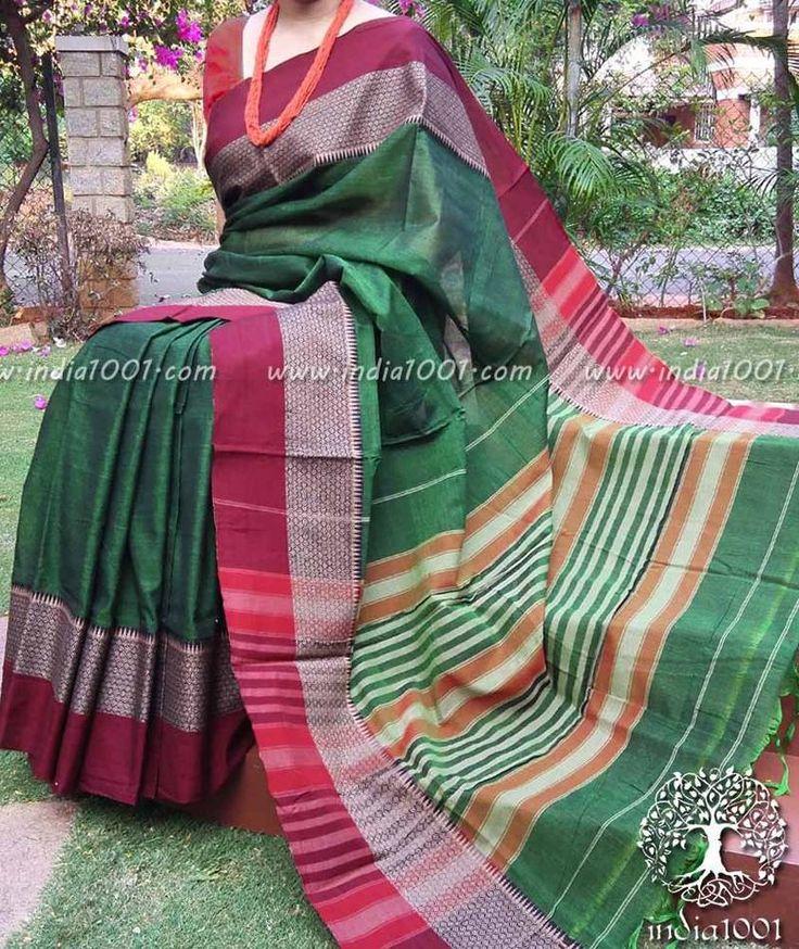Elegant Narayanpet Woven Cotton Saree