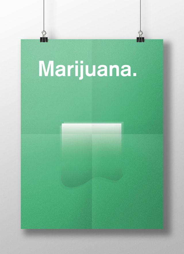 Meaghan Li || This is your brain on drugs: Marijuana || http://www.meaghanli.com/