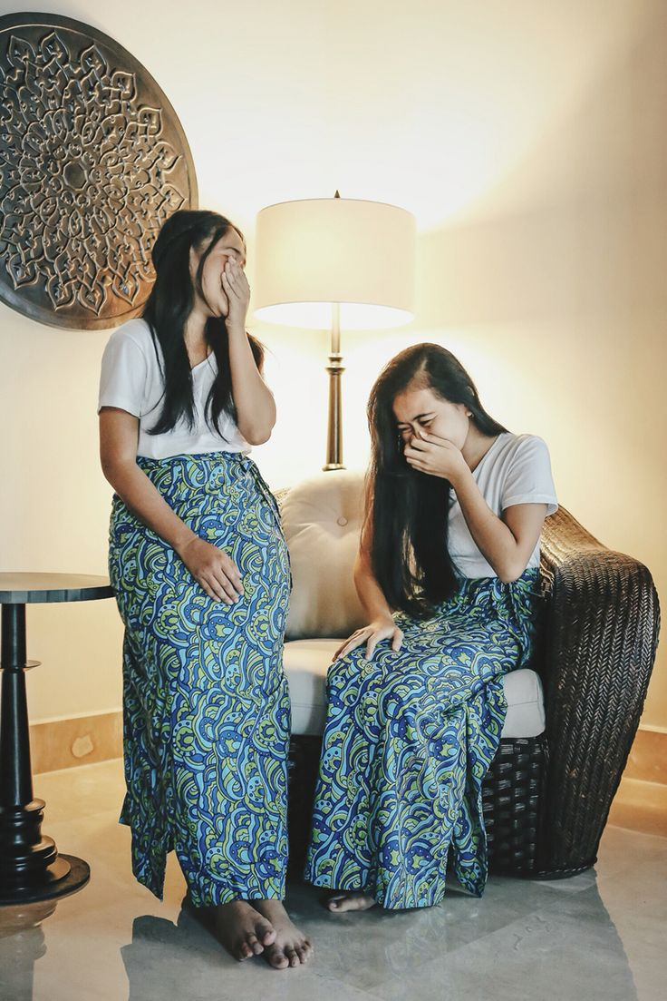 Meet Devi and her friend from @loveourearthbali and their very own multifunction sarong/towel. Set in our very own villa enchanted by the touches of the Peranakan gems