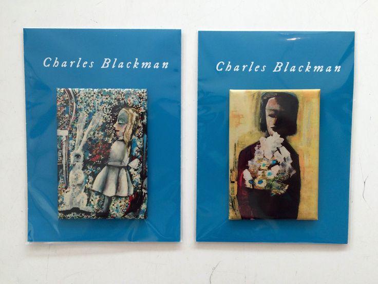 Charles Blackman magnets // QAG store