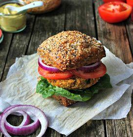 Wholehearted Eats : Quinoa Yam Burgers