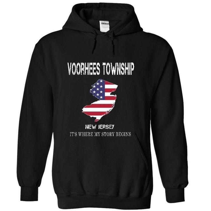 VOORHEES TOWNSHIP - Its where my story begins! T Shirt, Hoodie, Sweatshirt