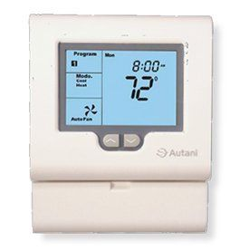 Autani A12-01-0302-01 EnergyCenter Home Thermostat by Autani. $371.00. The Autani EnergyCenter Home Thermostat manages heating and cooling based upon 7-day schedules, calendar schedules, and dynamically scheduled occupancy settings. Easy to install, the EnergyCenter Home Thermostat is a direct replacement for many existing t