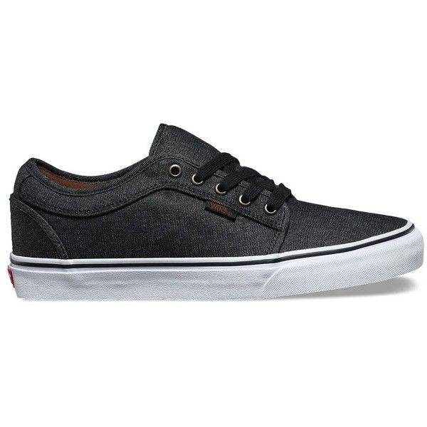 Vans Chukka Low ($65) ❤ liked on Polyvore featuring men's fashion, men's shoes, men's sneakers, black, mens denim shoes, vans chukka low mens shoes, men's low top shoes, mens black shoes and mens low top sneakers