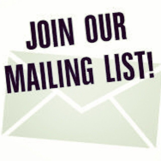 Our newsletter will be going out this week so if you want to join our mailing list for special offers, new arrivals and events drop us a mai...
