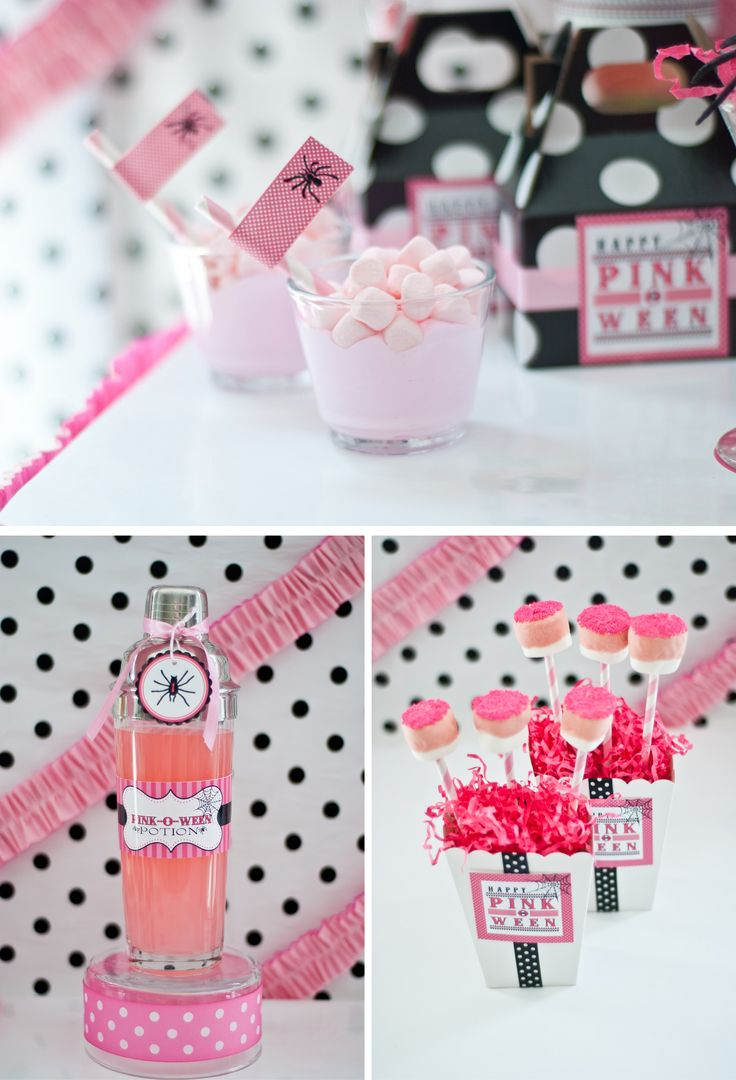 17 Best images about Halloween - Pink Party on Pinterest