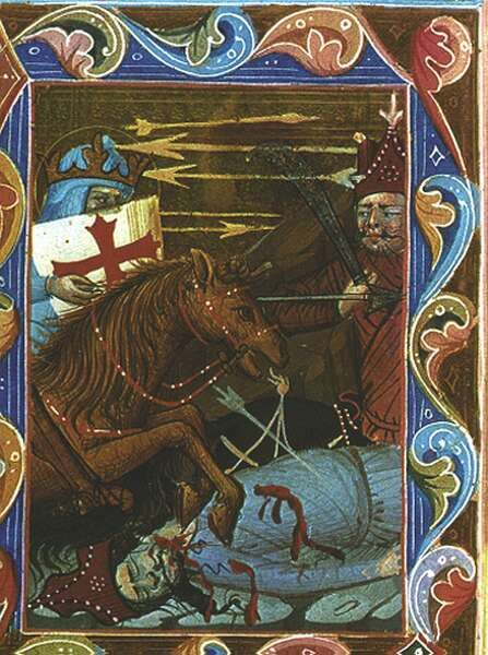 King St Ladislaus's story  How he fought against the Tartars  Magyar Anjou Legendárium. Sajtó alá rendezte Levárdy Ferenc. Magyar Helikon, 1973, XLIV. 135. (v: 82 r)