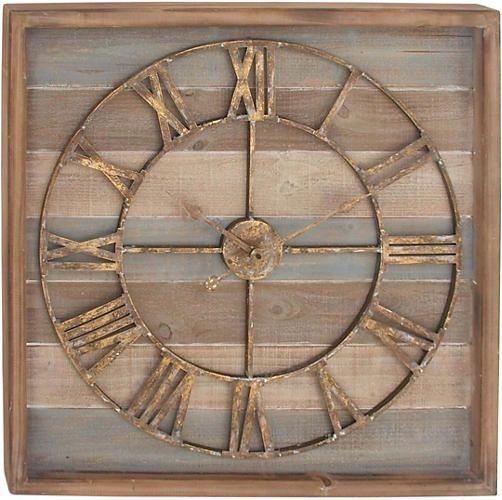 Chandos Wall Clock   - Art Van Furniture