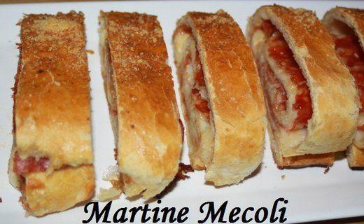 Recette de Pains aux pepperoni et à la mozzarella - i-Cook'in