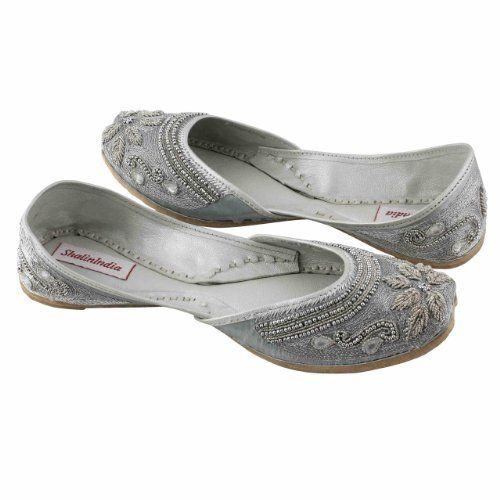 Amazon.com: Indian Moccasins For Women Beaded Embroidered Shoes Handmade Size: 9.5: Shoes