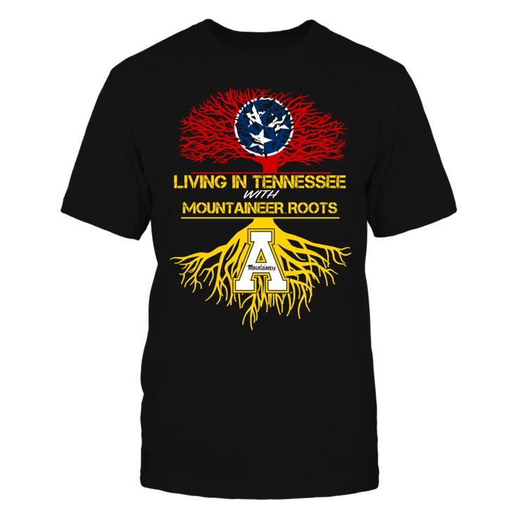 Appalachian State Mountaineers - Living Roots Tennessee T Shirt