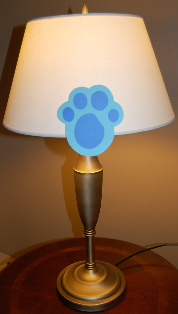 Blue's Clues Inspired Paw Print Game with Handy Dandy ...