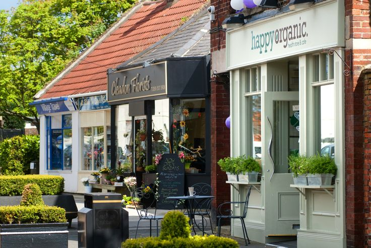 You'll find some unique boutiques at Cleadon, South Tyneside.
