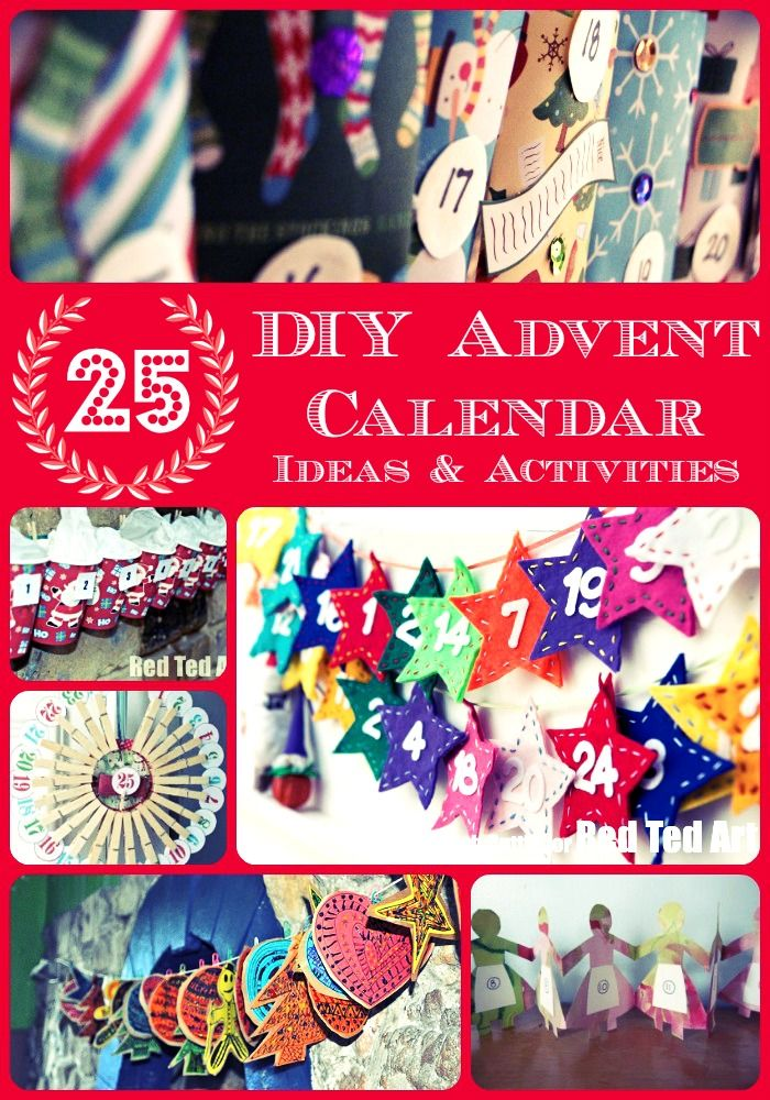 Try a classroom Advent Calendar this year? Lots of crafts for making your own (With the kids) and filling it with activities!