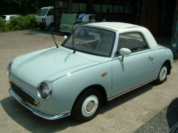 Nissan Figaro: can't believe Jessica posted this!