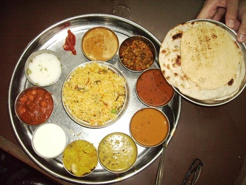 Essen Und Trinken In Indien