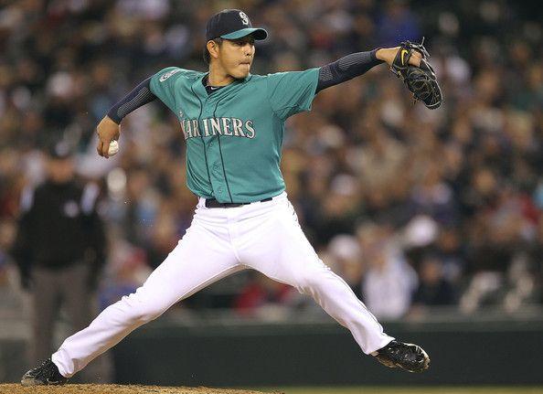 Hisashi Iwakuma finally got his MLB debut... and he was fantastic. Mariners.