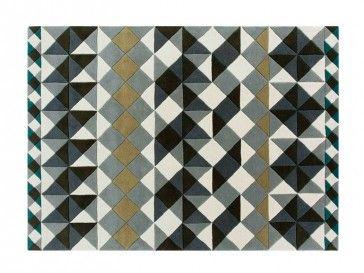 Alfombra Mosaiek Gris de Gan Rugs, diseño de Javier Tortosa - Tendenza Store