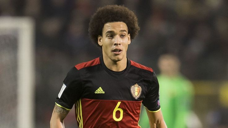 Axel Witsel confirms approach from Bayern Munich's Carlo Ancelotti