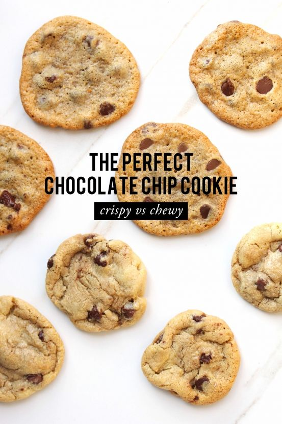 Classic Eats: Perfect Chocolate Chip Cookies #theeverygirl- Crispy ---Chewy