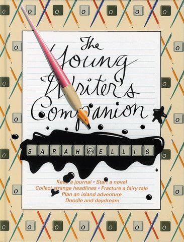 Young Writers Companion by Sarah Ellis. An engaging design, playful line drawings and lots of write-in space keep this undated journal fun and appealing, to be used however the reader wishes -- to begin a masterpiece, keep doodles and lists, or just for browsing. Topical, annotated booklists will guide budding writers to more books and fresh inspiration.