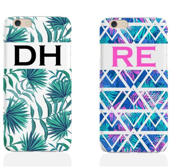 Coming Soon!  Two of our SS16 phone case initial designs 🌴📱😍  https://www.hunnibunniboutique.co.uk/catalog/phone-covers