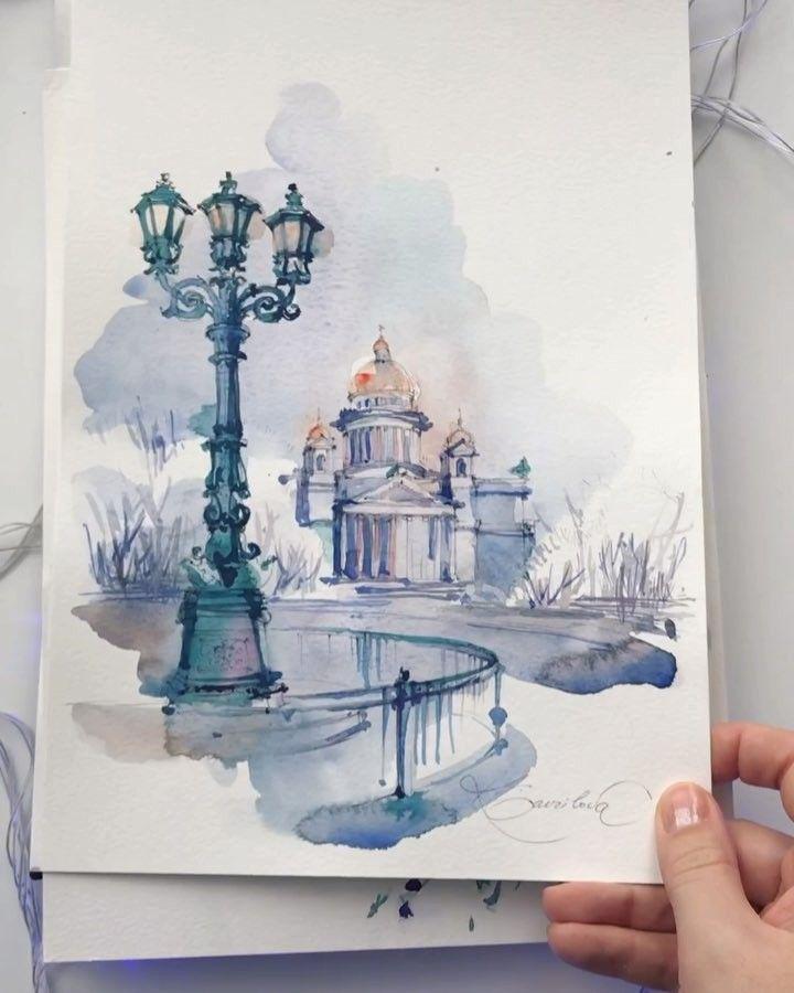 Watercolor Artist On Instagram Happy New Year My Dear