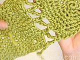 Crochet squares together edge to edge. Crochet 1 sc in the corner of first piece, ch 2, 1 sc in corner on next piece, *ch 4, 1 sc diagonally back in 1st piece,...