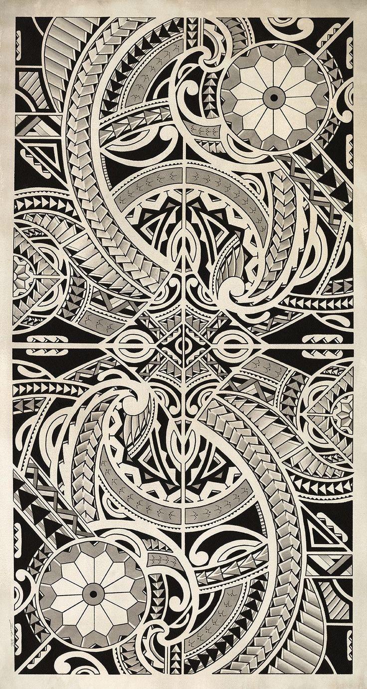 polynesian tribal face tattoos - Google Search