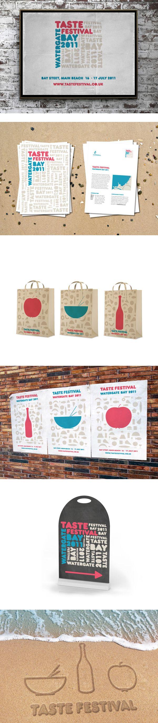 Taste Festival by Ven Klement, via Behance