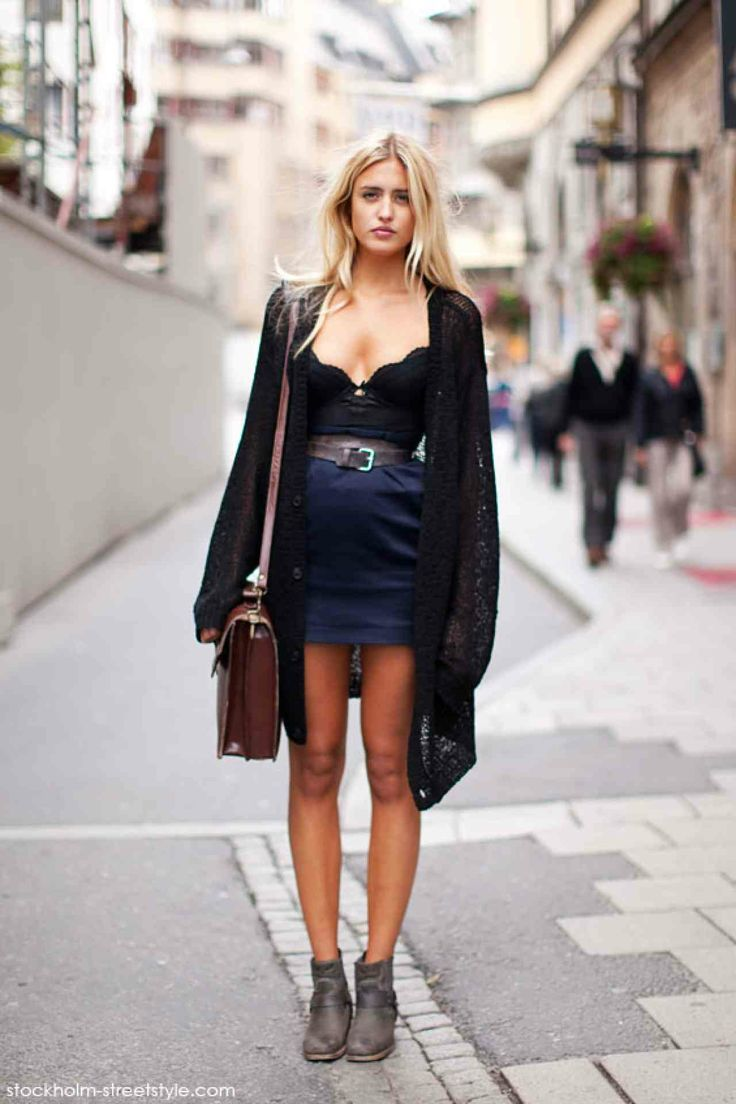 Look of the Day - 1/10/2014 Perhaps it is because this look is playful twist and can be replicated by using your night lingerie into daytime...
