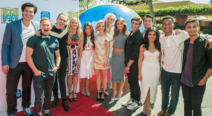 """The stars of the Disney Channel Original Movie """"Teen Beach 2,"""" kickoff the movie's premiere week with a red carpet screening event in Los Angeles on Monday, June 22."""