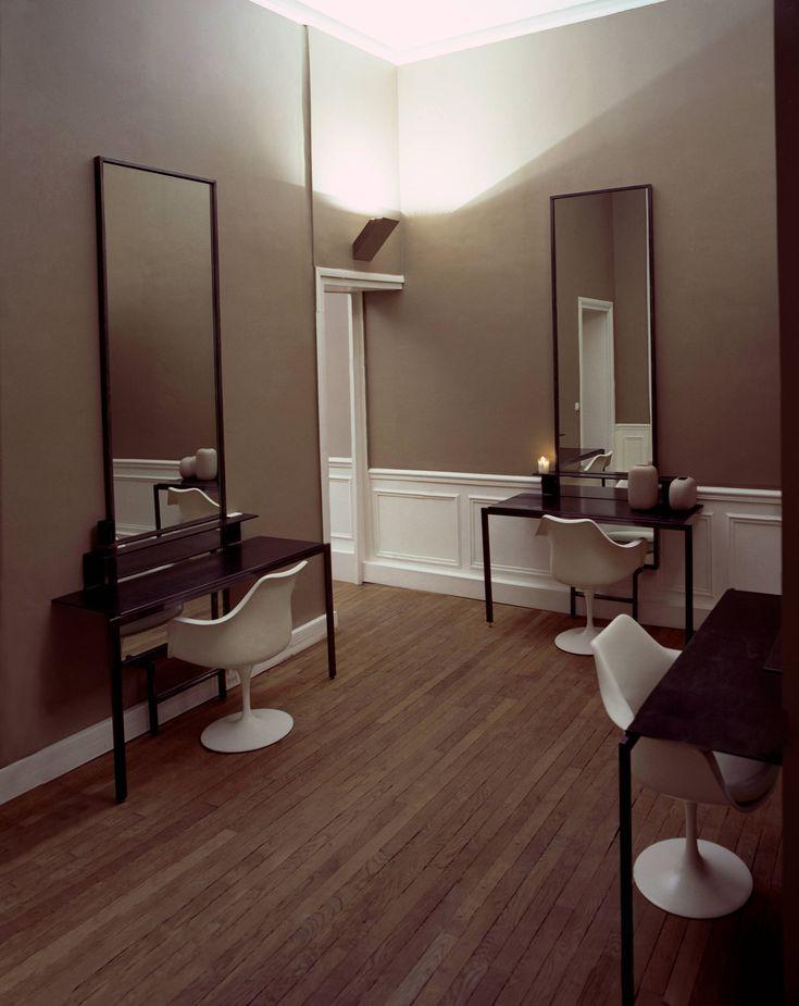 Un salon de coiffure en appartement chic et cosy, et aux ciseaux une équipe experte autour de David Mallett