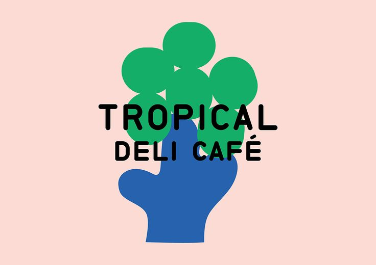 """Check out this @Behance project: """"Tropical Deli Café"""" https://www.behance.net/gallery/53878643/Tropical-Deli-Caf"""