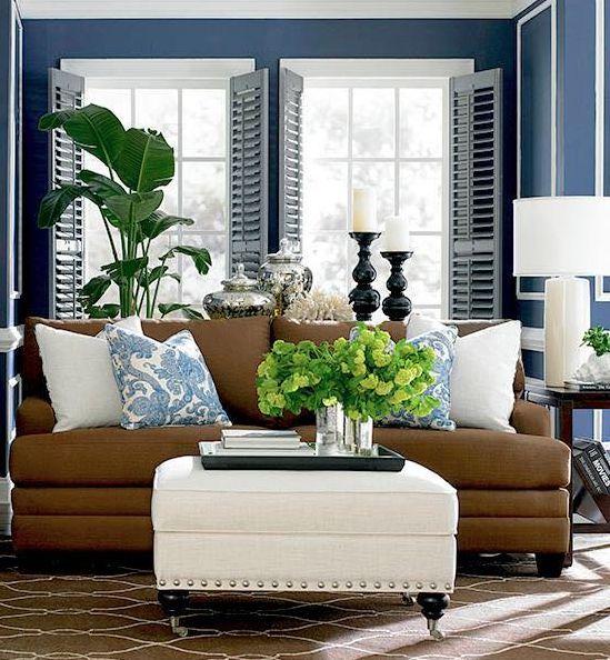 modern home decor blue home decor candles design couch livingroom windows interior rug