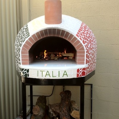 Wood Fired Brick Pizza Oven Made In Usa Ebay Mosaic