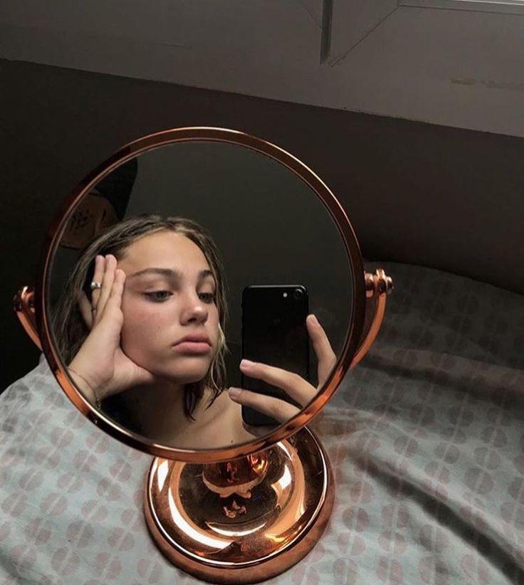 Как фотографировать отражение в зеркале