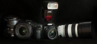 Fotografia - zamrożony ułamek sekundy: Odpowiedni sprzęt -  fotografować bez granic