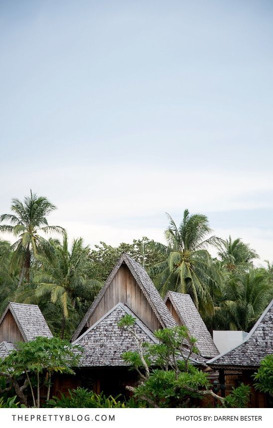 Tiled rooftops on a Thai Island | Photograph by Darren Bester |