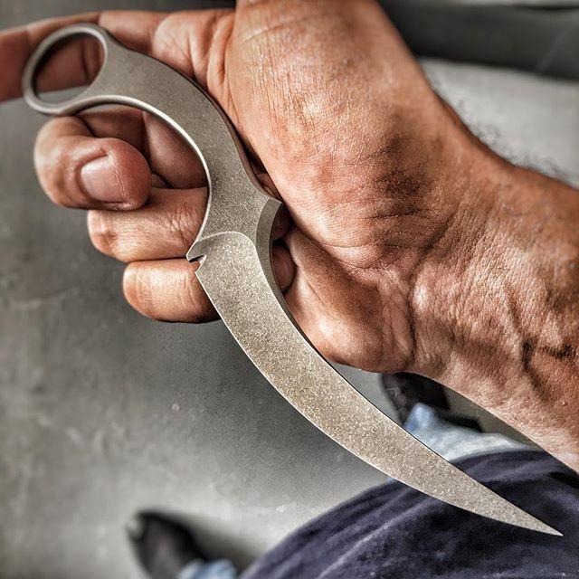 Custom Mako lite Work in progress #bastinelliknives #bastinelli #Knives #blade #funkertactical #funkermartialart  #knifecommunity #knifemaker  #Bastinellidesign #Tacticalknives #Bladeshow #edcknives #everydaycarry #martialblade  #knifereligion #weapon #tool  #customblade #customknives #makoknife #makoblade #makocustom #karambit