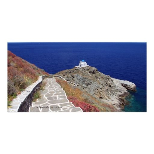 The Seven Martyrs – Sifnos Picture Card