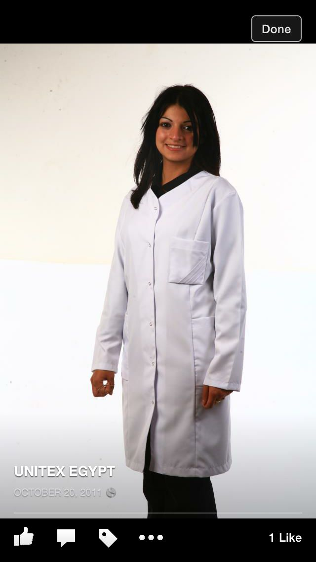 Lab coat for ladies