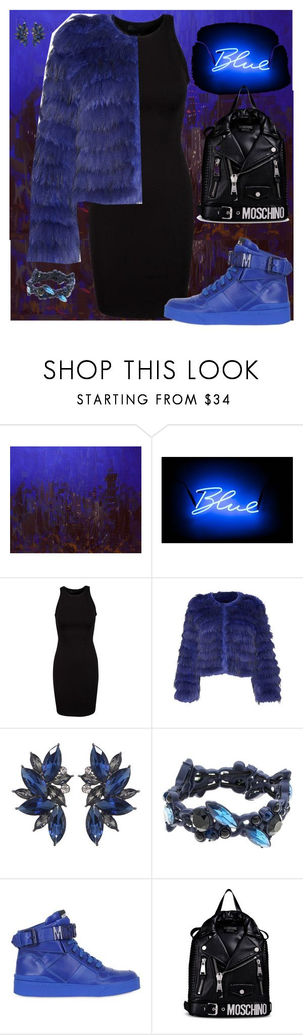 """""""fur"""" by traceyenorton ❤ liked on Polyvore featuring Seletti, Alice + Olivia, Simply Vera and Moschino"""