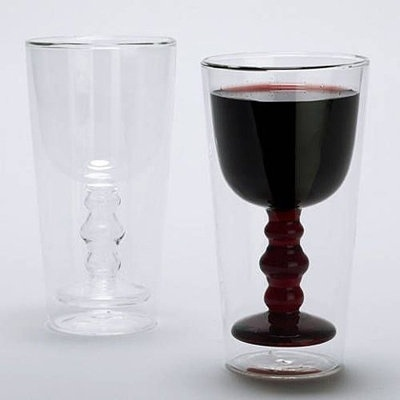 Becher oder Weinglas?