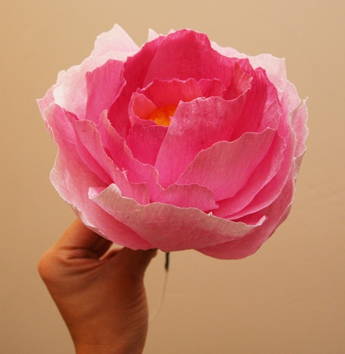 how to make paper flowers with coffee filters