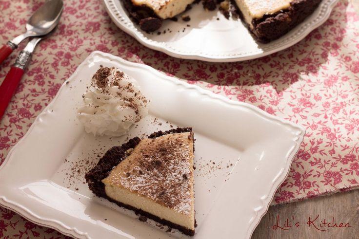 Brownie cheesecake 1 (Vegan)