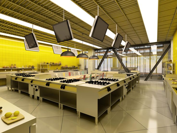 "Education Kitchen for ""Metro Gastronmy Studio"""
