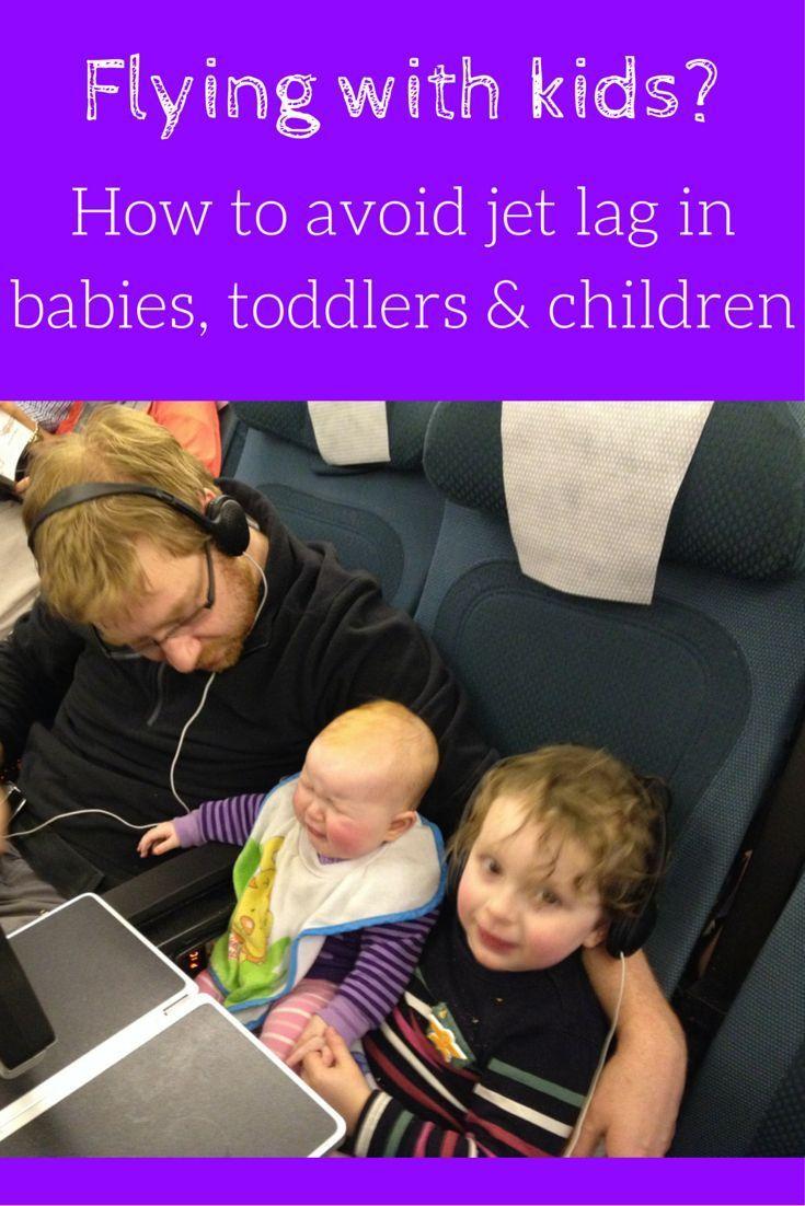 Flying with kids? Avoid jet lag baby, jet lag toddler and jet lag children with my 10 tips on tacking jet lag in children.