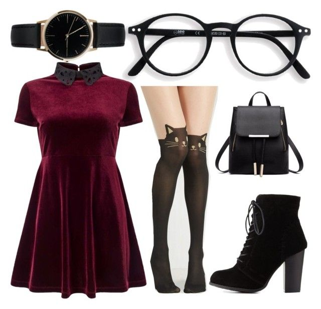"""""""Untitled #009"""" by liaperezmorales on Polyvore featuring Miss Selfridge, Charlotte Russe and Freedom To Exist"""