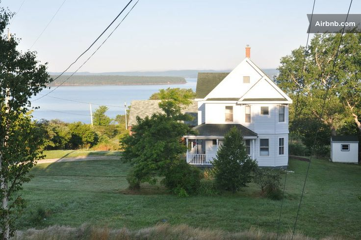 Farm House on the Ocean, Sydney NS in South Bar